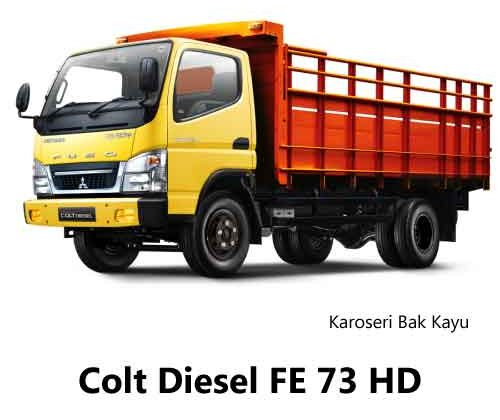 Colt-Diesel-FE-73-HD-Bak-Kayu