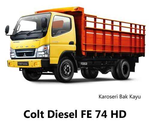Colt-Diesel-FE-74-HD-Bak-Kayu