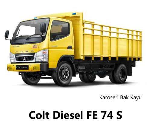 Colt-Diesel-FE-74-S-Bak-Kayu