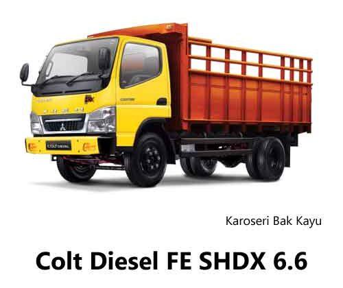Colt-Diesel-FE-SHDX-6.6-Bak-Kayu