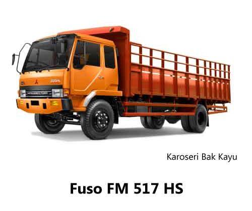 Fuso-FM-517-HS-Bak-Kayu